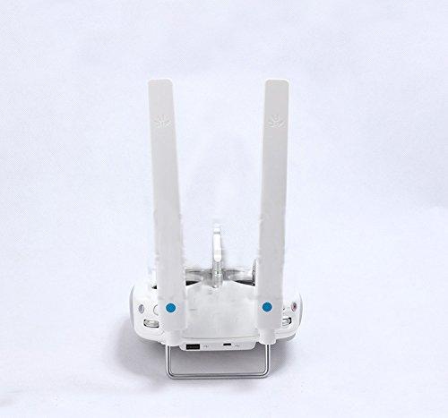 Zhuhaixmy 3.5KM Signal Range Booster Radar Reciever Gain Extender Antenna Set Signal Booster Radar Empfänger Extender Antenna for DJI Phantom 3/Phantom 4 Controller
