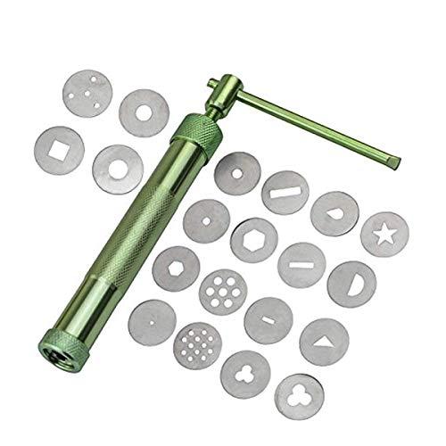 Nosii Ton Extruder Gun mit 20 stücke Tipps Zuckerpaste Extruder Kuchen Dekor Tools Kuchen Fondant Skulptur Dekorieren Tool Set