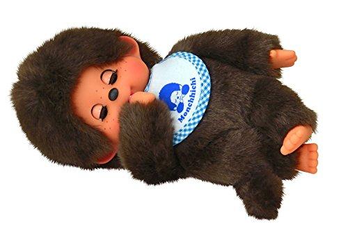 Sekiguchi 233050 - Plüschtier - Monchhichi Junge sleepy, ca. 20 cm