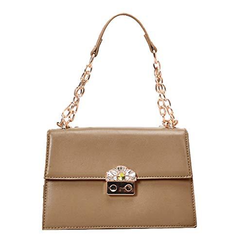 Miu Miu Tasche (Mitlfuny handbemalte Ledertasche, Schultertasche, Geschenk, Handgefertigte Tasche,Damenmode Pure-color Slant Bag Einzelner Schulterbeutel Geldbeutel Kuriertasche)
