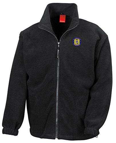 am Veteran Embroidered Logo - Full Zip Fleece By Military online (Vietnam-veteran-fleece-jacke)