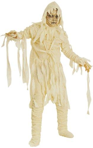 Kostüm Mumie Zubehör - Gruseliges Mumien für Kinder Kostüm! 4 Teile!