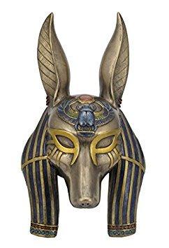 Unbekannt Anubis Maske Ägyptische Wandschild Skulptur