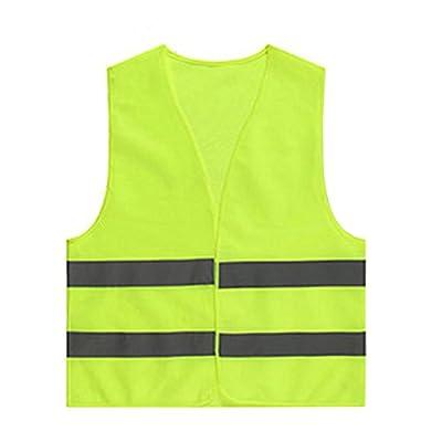 LAAT Sicherheitsweste Warnweste Pannenweste Warnweste Reflektor Safety Weste Warnwesten Unfall-Weste Gelb