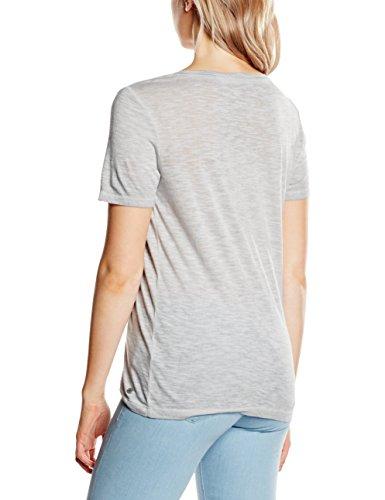 s.Oliver Damen T-Shirt Grau (soft grey placed print 91D1)