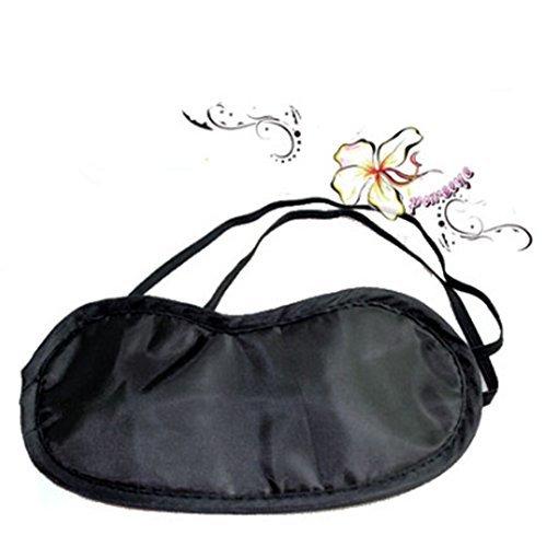 lubier 10PCS Augen Maske glatter Bezug Schlafmaske angenehmen Schlaf Maske mit Block leicht Hilfe Augenbinde Eye Patch