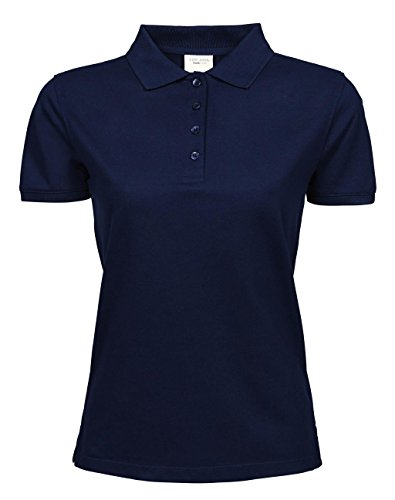 Ladies Heavy Polo Piqué Bleu Marine