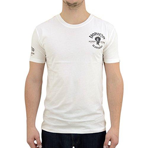 Yakuza Premium Herren T-Shirt Lucky Bastards YPS 2005 naturweiss - figurbetonter Schnitt Naturweiss