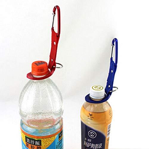 htrdjhrjy Kostengünstige graziöse Camping Wasserflasche Clip Karabiner SFSD Halter Haken Schnalle Schlüssel für Camping, Picknick und andere Outdoor-Aktivitäten - 1 -
