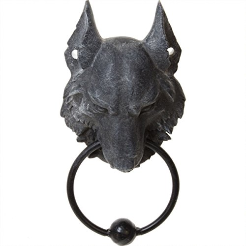 Dark Dreams Gothic Türklopfer Door Knocker Lycan Wolf Deko