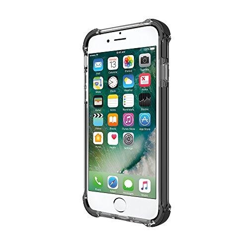 Incipio STOWAWAY Coque de Protection avec Rangement pour Cartes et Billets pour l'iPhone 6/6s - Noir Gris Fumé/Noir