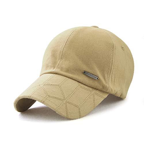 ner Baseball Cap Baumwolle ausgestattet Hut Outdoor Visier Marke Männer Hüte Papa Hut,A3 ()