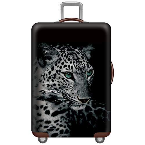 MISSMAO_FASHION2019 Elastisch Kofferschutzhülle Gepäck Cover Reisekoffer Hülle Kofferschutz Staubdicht für 18-32 Zoll Style35 S(Fit 18-20 Zoll Koffer)