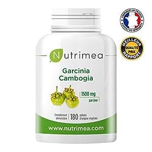 Garcinia cambogia nutrimea puissant coupe faim et brule graisse naturel 180 g lules de 500 mg - Coupe faim puissant redasan ...