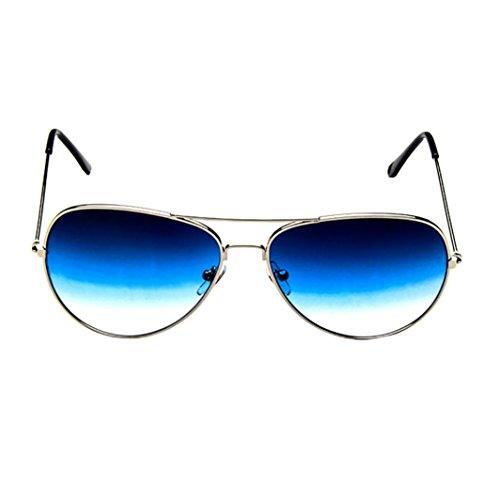 Sonnenbrille für Damen und Herren Wayfarer,OYSOHE Neueste Mens Womens Retro Fashion Aviator gespiegelte Objektiv polarisierte Sonnenbrille Brillen