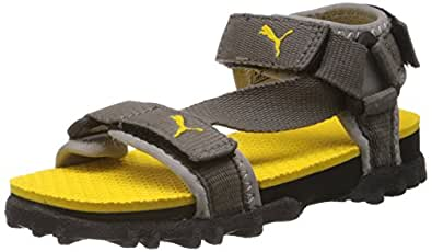 Puma Unisex Photon Jr III Ind Yellow Sandals and Floaters  - 12C UK
