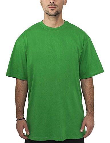 Urban Classics TB006 Herren T-Shirt Tall Tee | Oversize Shirt, Grün (c.Green 76), XXL