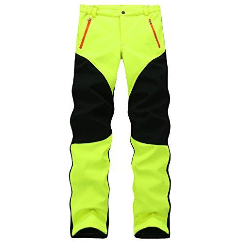 Qweas All'aperto Modelli Delle Coppie Di Autunno E Inverno Punch Pants Pantaloni Da Arrampicata Classic Durable Wear Green
