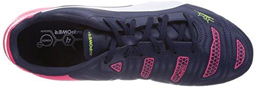 Puma evoPOWER 4.2 FG Herren Fußballschuhe Blau (peacoat-white-bright plasma 01)