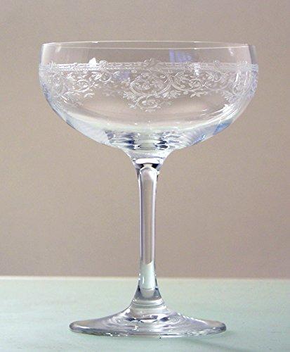 6-er Set Lucca Champagnerschale
