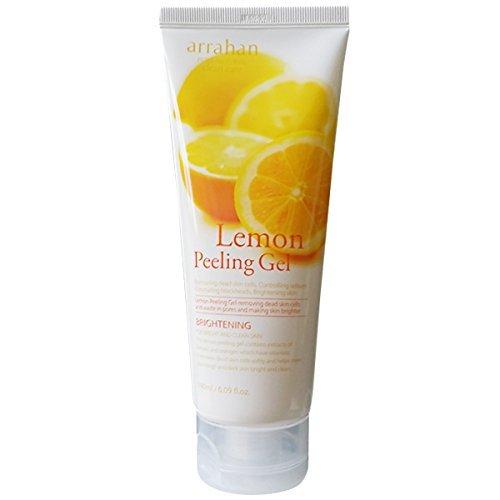 Lemon Peeling Gel 180ml, Bright Skin, Clean Skin, Removes Dead Skin by Arrahan