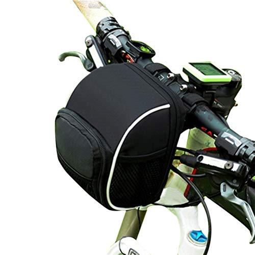Glomab Bike Lenkertasche Fahrradlenker Beam Bag Top Tube Aufbewahrungstasche für Bike Tasche für Mountain, Road, MTB, Klapprad (Bike Bag Road)