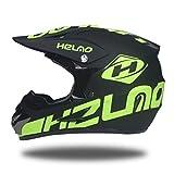 LUHUIYUAN Downhill-Helm für Motorradhelm Off-Road-Rennhelm,a,L