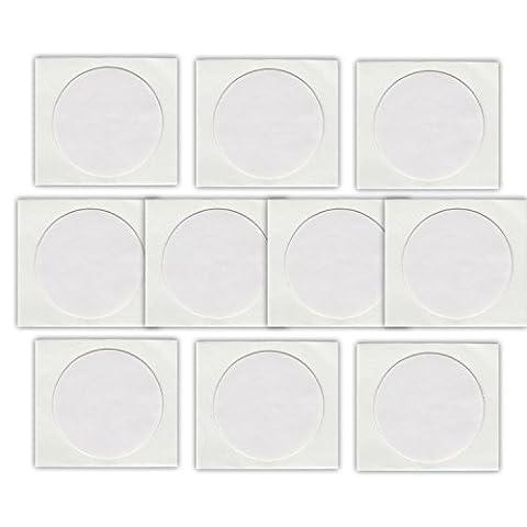 10 NFC Tags Sticker NTAG216 | 888 Byte | 25mm | weiss (Nfc Sticker)