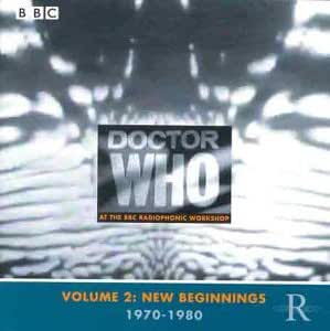 Doctor Who at the Radiophonic Workshop, Vol. 2: New Beginnings, 1970-1980