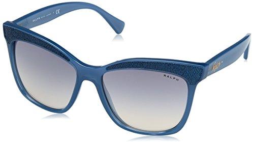 Ralph 0ra5235 16907b, occhiali da sole donna, blu (bluette/blueegradientmirror), 56