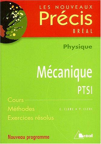 Mcanique PTSI