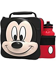 Mickey Mouse - 3D Lunch Bag And Bottle Set