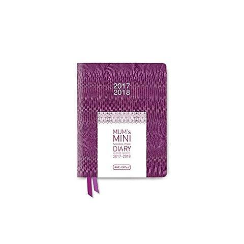 MUM's MINI School Year Diary 2017-18 (Plum)