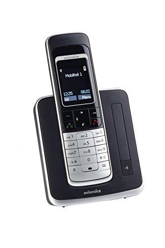 Swissvoice Avena 479 Schnurloses DECT Telefon mit beleuchteter Tastatur und Vollmatrix-Display (FullECO)