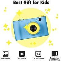 Ainol-Cámara Digital para Niños de Vídeo y Fotos, Regalo Infantíl Ideal para Navidad Cumpleaños y Fiestal ( Azul)