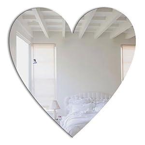 Mungai Mirrors Herz-Acryl-Spiegel (60cm)