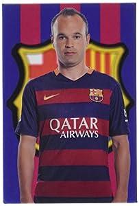 FCB FC Barcelona- Imán Iniesta, Multicolor (CYP IM-25-BC)