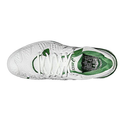 Asics Gel-Resolution 6 Uomo L.E. LONDON Scarpe Da Tennis - AW16 White