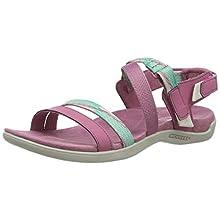 Merrell Women's District Mendi Backstrap Sling Back Sandals, Pink Erica), 8 (42 EU)