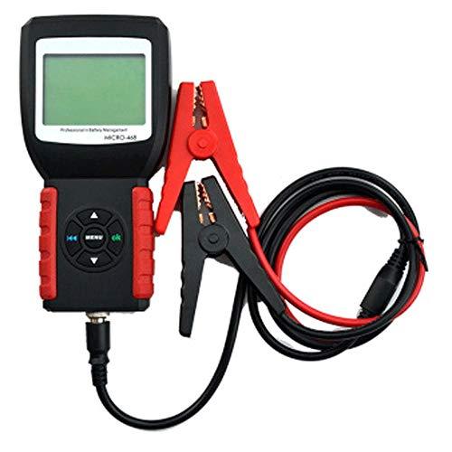 TERMALY Tester Batterie 12v,Tester per Batterie Auto Professionale,Tester Batteria Auto, Tester per batterie per Auto per 12v / 24v, Sistema multilingue per SOH SOC CCA,A