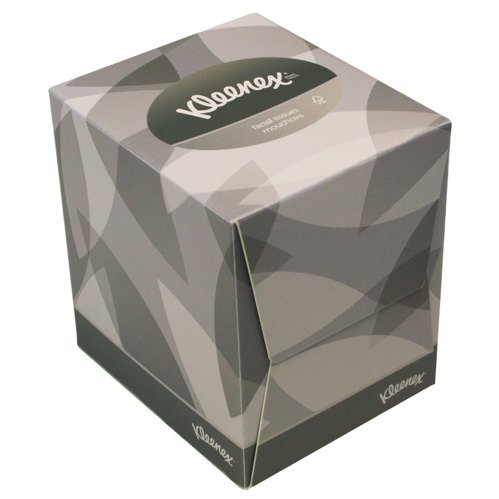 kleenex-8834-facial-tissue-cube-90-sheets-per-carton-2-ply-white-pack-of-12