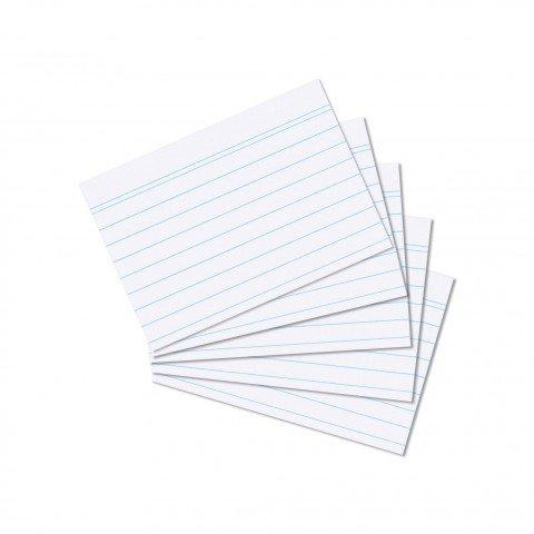 herlitz-schede-per-schedario-a7-800-pezzi-a-righe-colore-bianco-confezione-din-a7-weiss-liniert