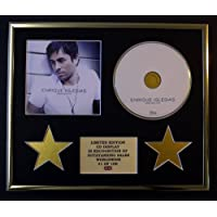 ENRIQUE IGLESIAS/CD Display/Edicion Limitada/Certificato di autenticità/GREATEST HITS
