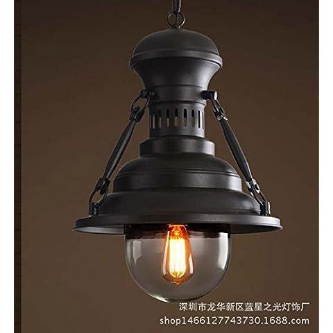 Lampade di stile LOFT industriali d'epoca e creativo ristorante American