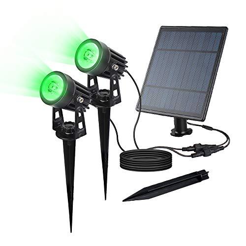 SULPOW LED Proyector solar Jardín Inducción impermeable