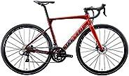 Sunpeed Astro Road Bike Racing Bicycle 700C Aluminum Disc Brake Cycles shimano Sora 18 Speed Bikes