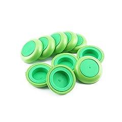 Idea Regalo - Refill disco dischi verde proiettile della pistola Blaster freccette giocattolo per Nerf - 30 pezzi