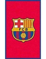 FC Barcelona Crest Floor Rug by Barcelona F.C.