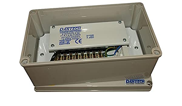 DA665//8 Dantech Power Supply 12V Dc 8X 500Ma PSU