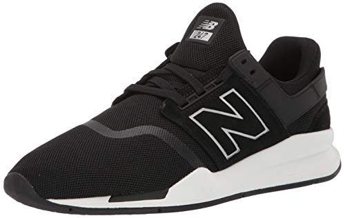 New Balance 247v2, Zapatillas para Hombre, Negro (Black Black), 45 EU